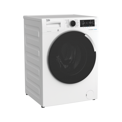 Beko Front Load 12kg 1400rpm Washer WTE12745X0D (White)