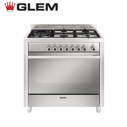 Glem Unica G 5 Gas Burners Range Cooker AM0013.96380000
