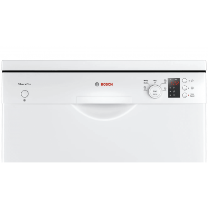 Bosch SMS50E82EU Serie 4 Freestanding 60cm Dishwasher 12+1 Place Setting (White) - Made in Germany