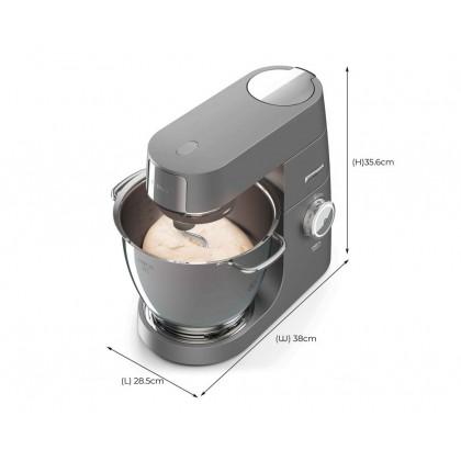 Kenwood KVL8300S Titanium XL Stand Mixer Kitchen Machine 6.7L 1700W (Silver)