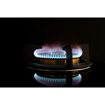 Lebensstil Kolllektion 85 Series safety Net Glass 2 Burners Gas Hob LKGH-8502MB (Stainless Steel)