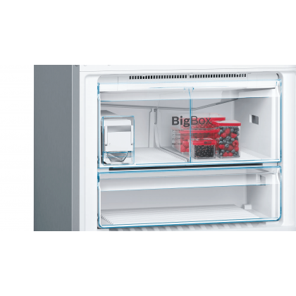 Bosch Serie   6 KGN86AI4MO 619L Freestanding Refrigerator with Bottom Freezer (Stainless steel with anti-fingerprint)