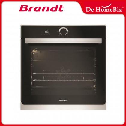 Brandt BXC6537XS 60cm Built-in Catalytic Oven 73L