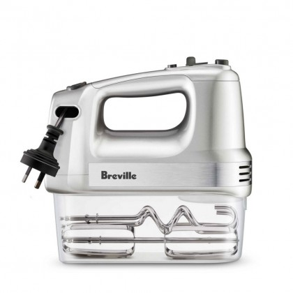 Breville LHM150 Handy Mix & Store Hand Mixer (Beaters and Dough Hooks) 300W