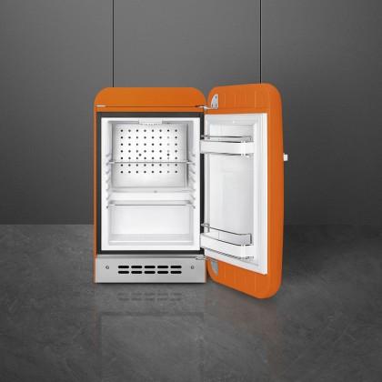 Smeg FAB5 50's Retro Style Mini Single Door Refrigerator 38L (Red/Black/Orange/Pastel Blue/Pastel Green/Pink/Cream)