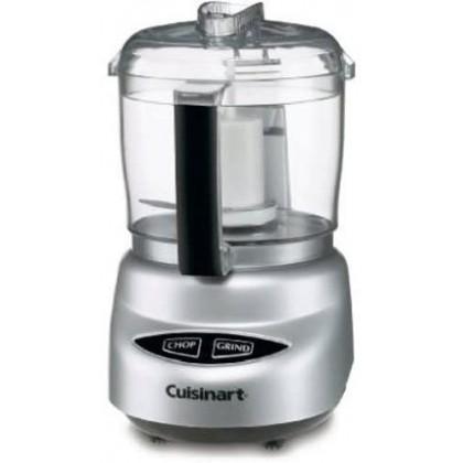 Cuisinart DLC-2ABC Mini Prep Plus 3 Cup Food Processor Chopper 250W (Silver)