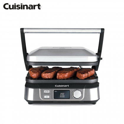 Cuisinart GR-5N Grill Five and Deep Pan 1730W (Stainless Steel)