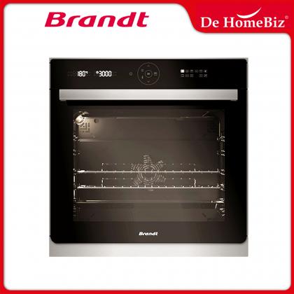 Brandt BXP6575X 60cm Built-in Pyrolytic Oven 73L